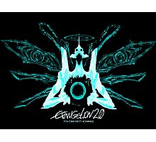 Evangelion 2.0 - EVA UNIT 01 Angel Logo Photographic Print