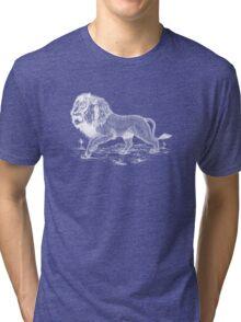 White Lion Art Tri-blend T-Shirt