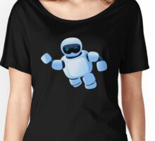 Robot in the sky Women's Relaxed Fit T-Shirt