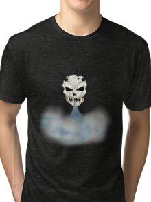 The Steam Skull Tri-blend T-Shirt