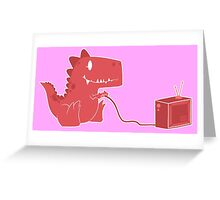 gamesaurus ruby Greeting Card