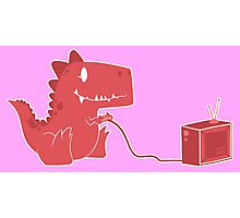 gamesaurus ruby Photographic Print