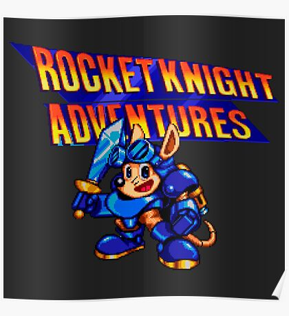 ROCKET KNIGHT ADVENTURES Poster