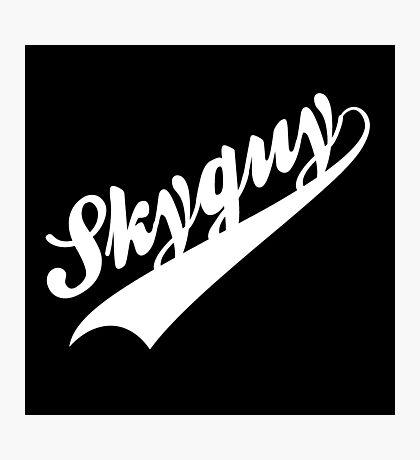 Skyguy Photographic Print