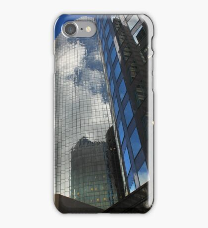 Cloud Reflections in the Windows iPhone Case/Skin