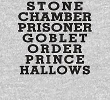 Stone Chamber Prisoner Goblet Order Prince Hallows - Harry Potter Books, List of Harry Potter Books, Harry Potter Shirt Tank Top