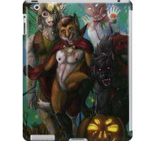 Furry Halloween iPad Case/Skin