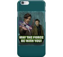 Use the Force, Doctor Jedi (Realistic) iPhone Case/Skin