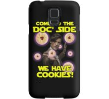 Come to the Doc' Side Samsung Galaxy Case/Skin