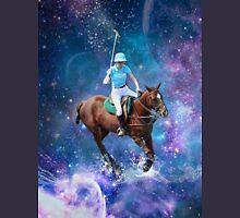 Horse Polo Galaxy Unisex T-Shirt