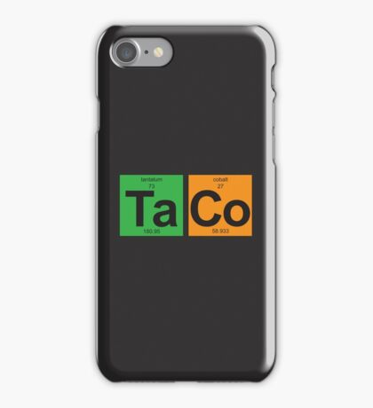 TaCo - Periodic Table of Elements iPhone Case/Skin
