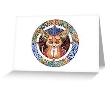 - Totem Fox - Greeting Card