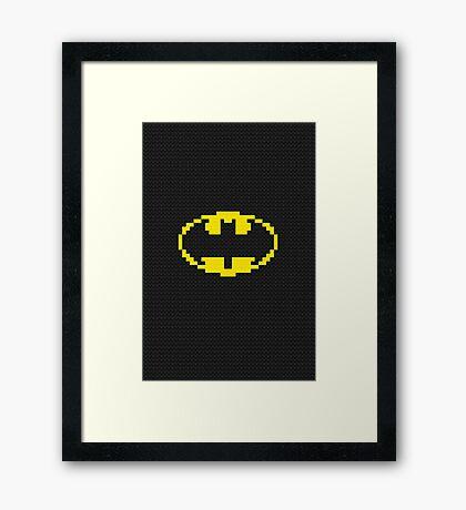 bat logo Framed Print