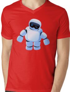 Sad robot is sad Mens V-Neck T-Shirt