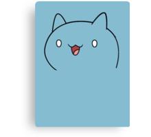 Catbug Face Canvas Print