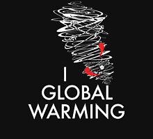 I (Tornado) Global Warming Womens Fitted T-Shirt