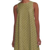 Spiky Flowers of the Flint Hills A-Line Dress