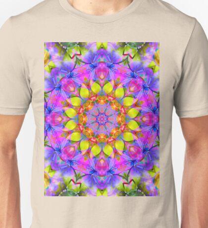 kaleidoscope Diamond Flower G411 Unisex T-Shirt