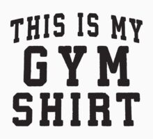 This Is My Gym Shirt Workout Shirt, Crossfit Clothing, Lifting Shirt by ABFTs