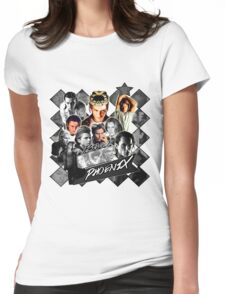River Phoenix Design Part 2 Womens Fitted T-Shirt