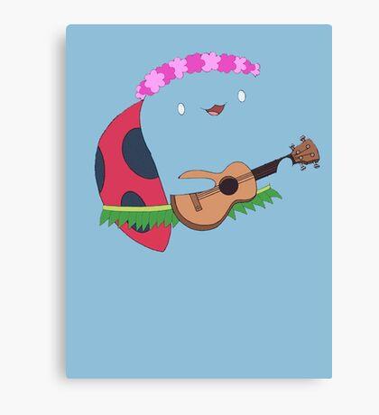 Bravest Warriors ~ Catbug Guitar Canvas Print