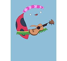 Bravest Warriors ~ Catbug Guitar Photographic Print