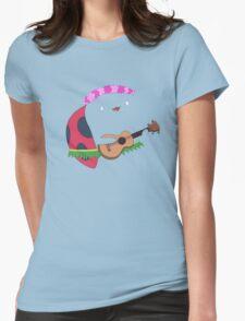Bravest Warriors ~ Catbug Guitar Womens Fitted T-Shirt