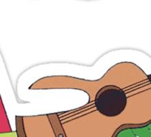 Bravest Warriors ~ Catbug Guitar Sticker