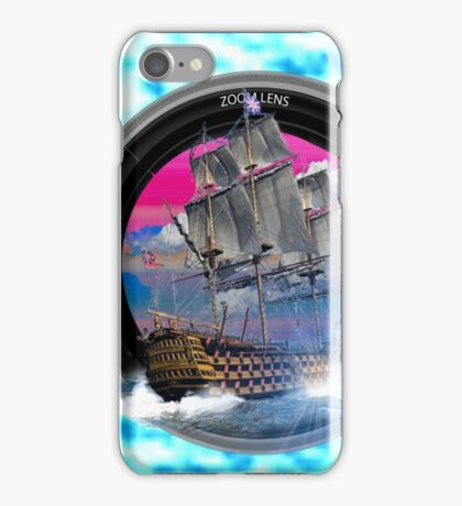 fotogradia de barco zoom iPhone Case/Skin