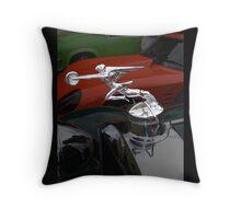 Art Deco Radiator Cap Throw Pillow