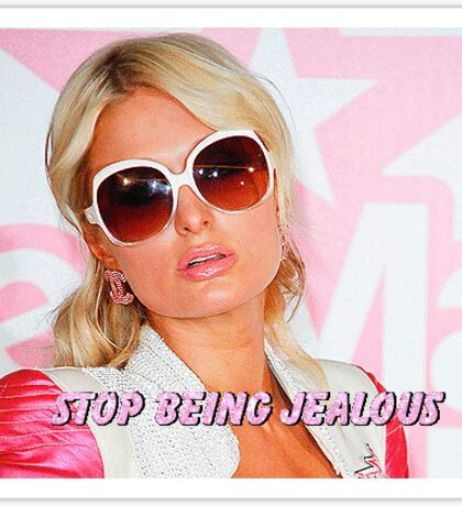 Paris Hilton Sticker