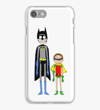 BatRick and RobMorty iPhone Case/Skin