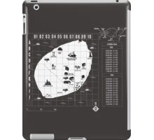 Battle Royale Map iPad Case/Skin
