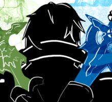 Two Swords! (Sword Art Online) Sticker