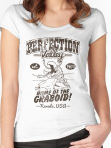 Perfection Valley Women's Fitted Scoop T-Shirt