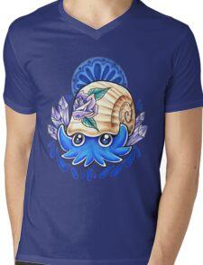 Omanyte Mens V-Neck T-Shirt