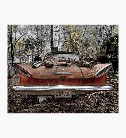 Abandoned 1961 Mercury Comet Photographic Print