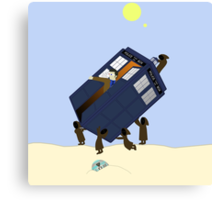 The Jawas Have the Phonebox Canvas Print