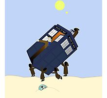 The Jawas Have the Phonebox Photographic Print