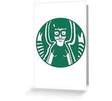Belcher's Coffee Greeting Card