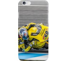 Maverick Vinales Champion Moto2 Racer iPhone Case/Skin