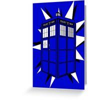 Type 40 TARDIS Greeting Card