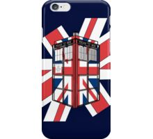 Type UK TARDIS iPhone Case/Skin