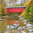 Everett Covered Bridge by Kenneth Keifer