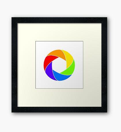 Aperture Framed Print