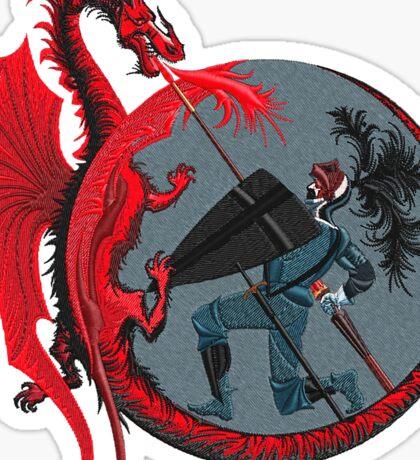 Dragon Slayer Sticker
