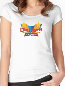 DieHard: Hardcore Series Logo Women's Fitted Scoop T-Shirt