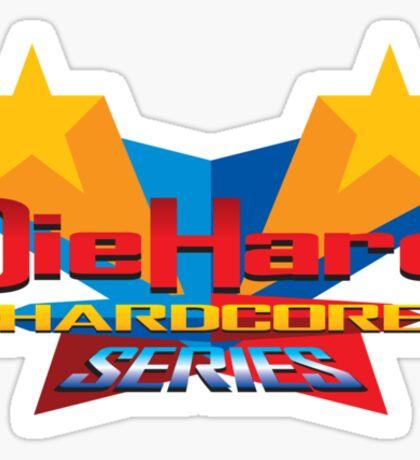 DieHard: Hardcore Series Logo Sticker