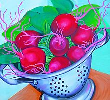 Red Radish by marlene veronique holdsworth