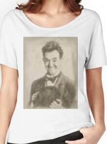 Stan Laurel Vintage Hollywood Actor Comedian Women's Relaxed Fit T-Shirt